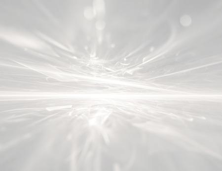 白地未来的なフラクタルの地平線