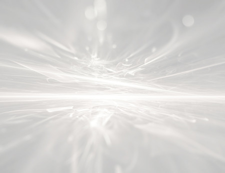 white futuristic background fractal horizon Фото со стока