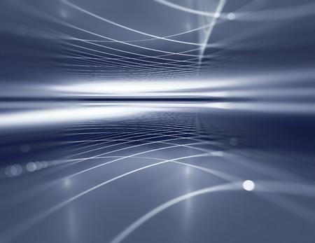 technik: blauen Horizont Metall-Hintergrund