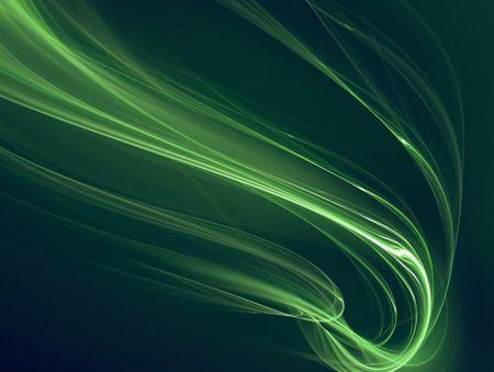 black lines: abstract background with glowing green lines
