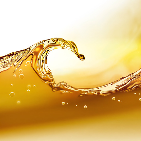 aceites: Ola �leo sobre un fondo claro