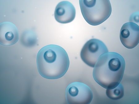 cells: abstract science background with cells Stock Photo