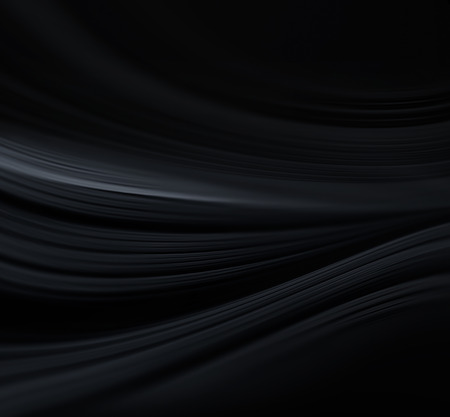 Abstract dark background with smooth soft lines