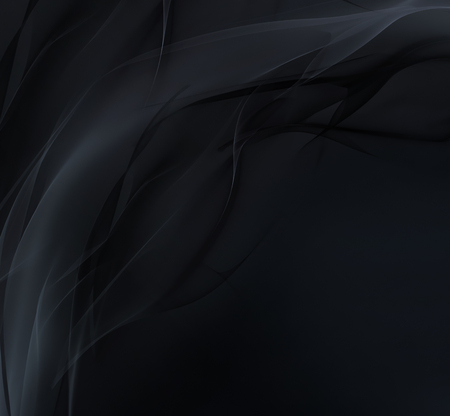 smooth: Abstract dark background with smooth soft lines