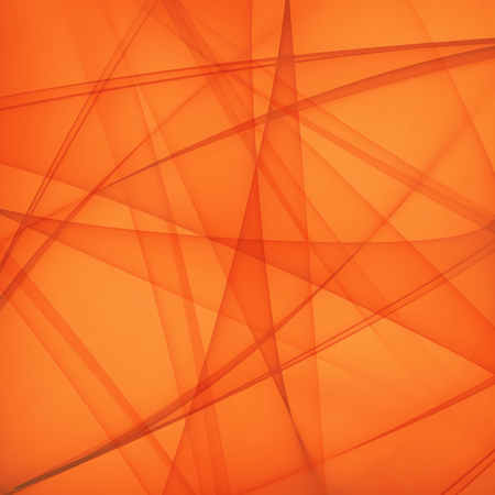 motion modern: abstract bright orange background with smooth lines