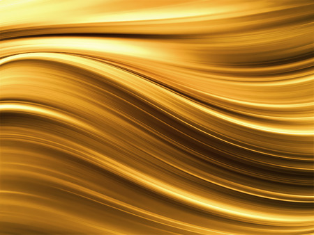 smooth background: abstract gold background with smooth wavy lines