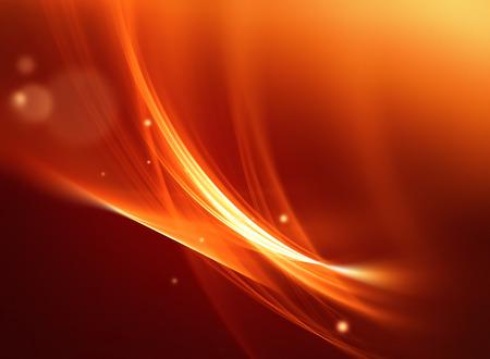 naranja: Fondo de fuego abstracto con l�neas suaves lisos Foto de archivo