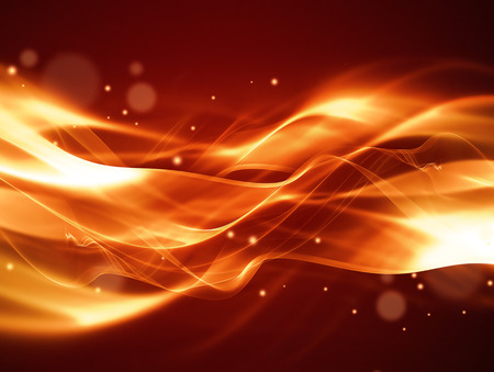 inferno: abstract fire background with smooth soft lines