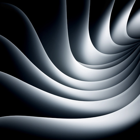 smooth background: White and black background with smooth lines