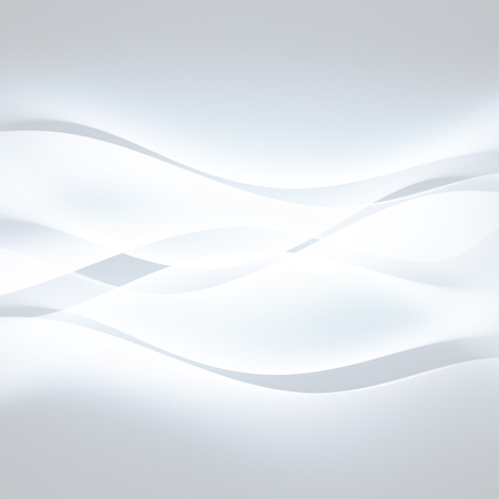 swirl background: abstract white background with smooth wavy lines