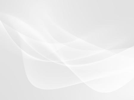 Zusammenfassung weißen Hintergrund mit glatten Wellenlinien Standard-Bild - 52584236