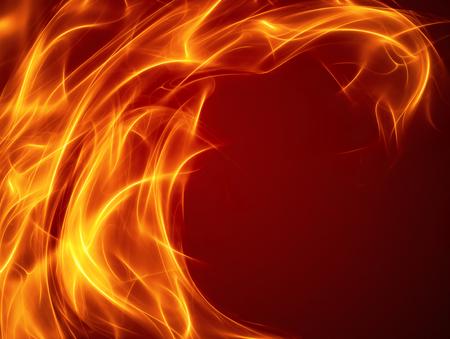 부드러운 부드러운 라인 추상 화재 배경 스톡 콘텐츠