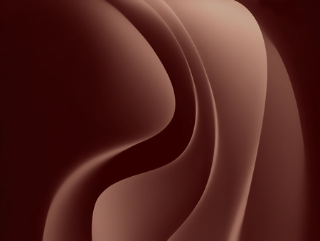 smooth background: abstract chocolate background with smooth wavy lines