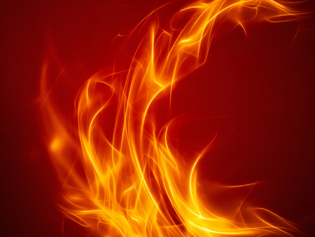 energy background: abstract fire background with smooth soft lines