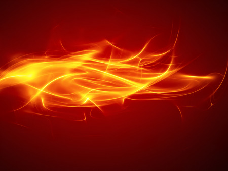 abstract fire: abstract fire background with smooth soft lines