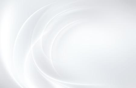 Resumen de fondo blanco con líneas onduladas suaves