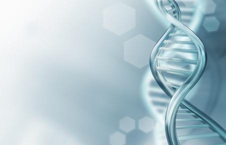 tige: Abstrait arrière-plan de la science avec des brins d'ADN