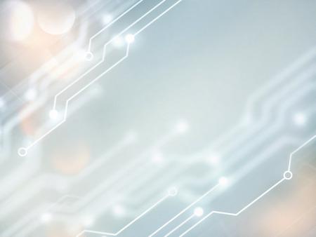 Résumé fond de haute technologie dans des tons blancs et gris