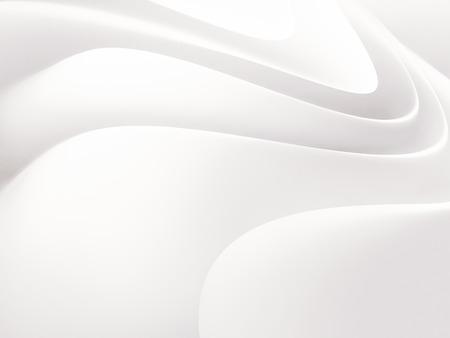 abstracte witte achtergrond met vloeiende golvende lijnen