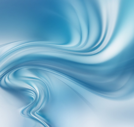 whirl: abstract blue tornado on white as background Stock Photo