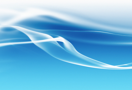 smooth background: abstract blue background with smooth shining lines Stock Photo