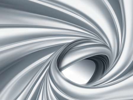full screen abstract chrome metal as background Banque d'images