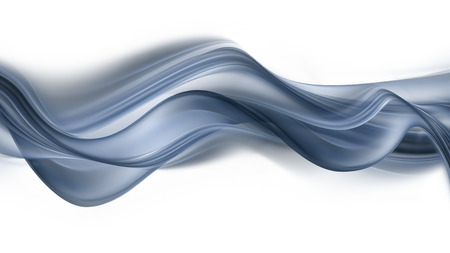 flowing: abstract background with gray flowing wavy lines