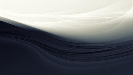 smooth: White and black background with smooth lines
