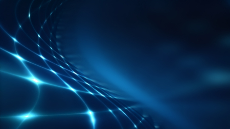 shining light: Abstract technology background with blue shining light