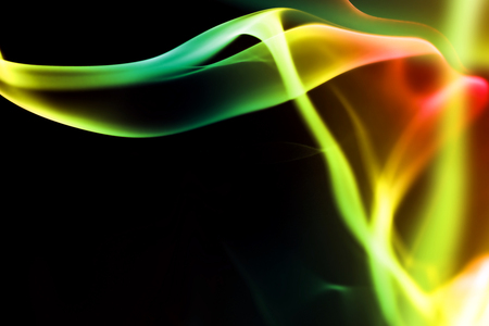 abstract smoke: abstract background with glowing colored smoke