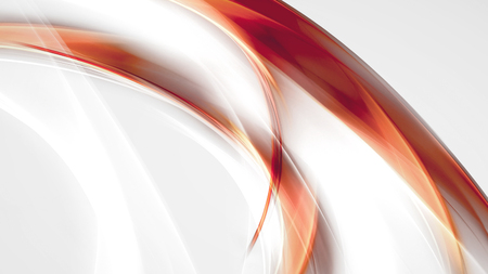 orange background abstract: bright abstract background with orange, red and white smooth lines
