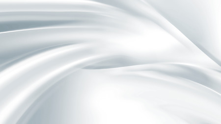 satin: Closeup of white satin fabric as background