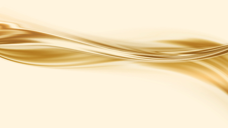 Liquid gold -  abstract design or art element for your projects