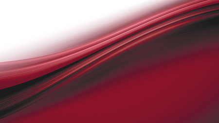 white background abstract: abstract red wave on a white background