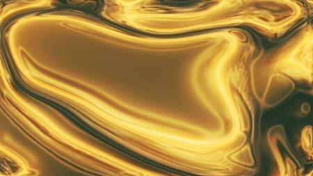 liquid gold background - elegant background Stock Photo