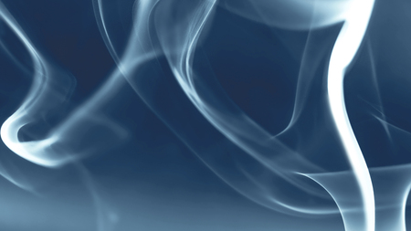 abstract smoke: abstract blue background with smoke