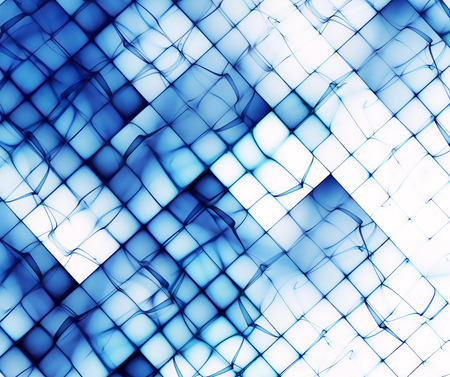 background color: abstract blue shapes on white as a background