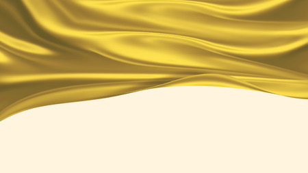 satiny: golden silk - elegant background for your projects