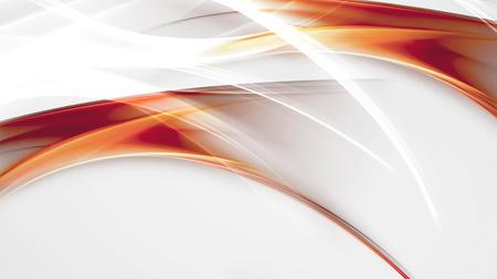 helle abstrakten Hintergrund mit orange, rot und weiß glatten Linien
