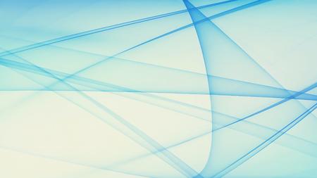 Résumé de fond bleu avec un trait lissé Banque d'images