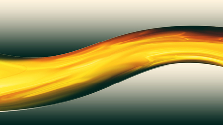 metal background with a wave of lava