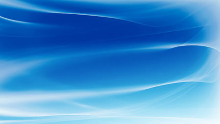 Abstract blue background with smooth lines Stock Photo