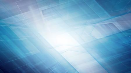 fondos azules: Azul horizonte futurista tecnología de fondo