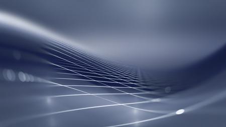 グレーと白の色調と抽象的な技術の背景