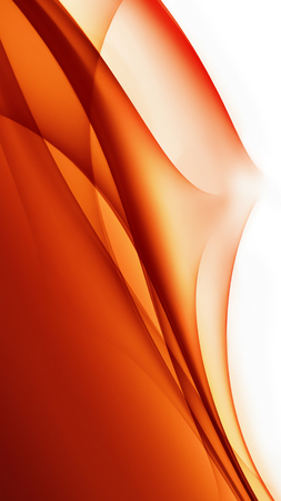 colour image: Abstract red background with different shades of color lines Stock Photo