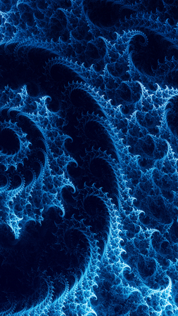 abstract background with spiral fractal
