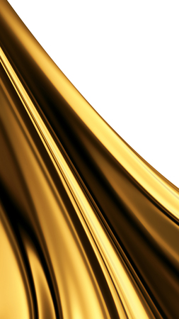 nobody: liquid gold -  abstract design or art element for your projects