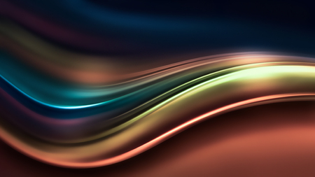 full screen abstract chrome metal as background, 3d image Reklamní fotografie