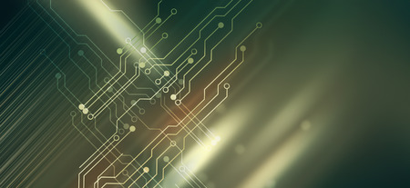 Abstract high tech backround with circuit board design Archivio Fotografico - 115244027