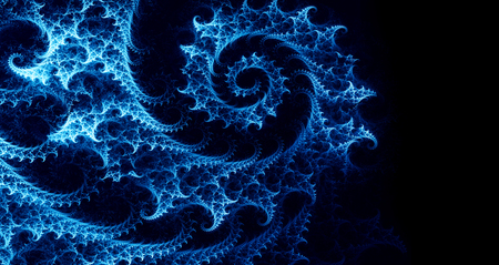 abstract background with spiral fractal Stock Photo - 121405857